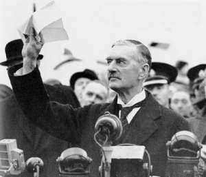 The first is after the Munich Appeasement, I'm sorry, Agreement: