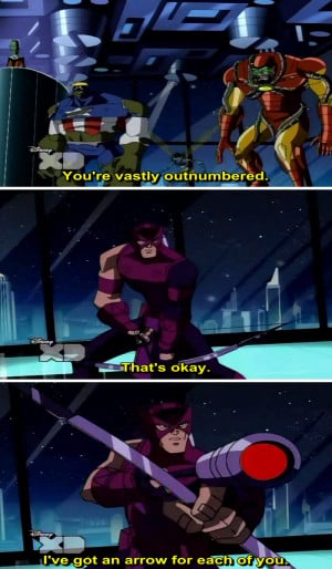 The Avengers Earth's Mightiest Heroes Qoute-8