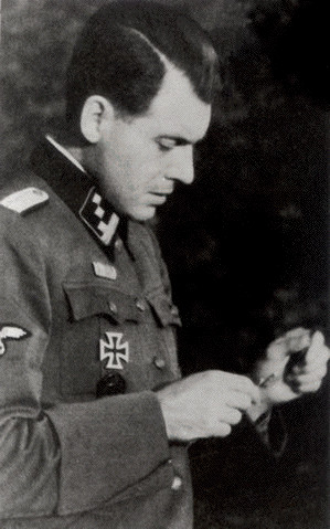 Dr. Josef Mengele, the infamous Nazi doctor who performed medical ...