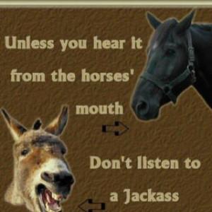 Don't listen to a jackass