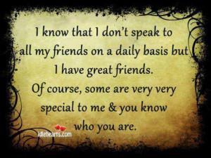 Great friends