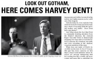 Harvey Dent Are Running For