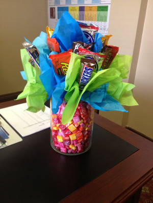 ... Gift Ideas, Candy Bouquets, Boss Gifts, Gifts Parties, Gifts Idea, Fun