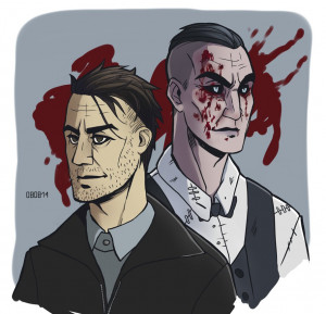 Ed Gein and Eddie Gluskin by Kvezal