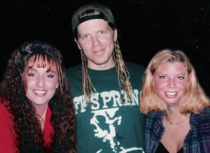My sister and I with Brian Dexter Holland Image