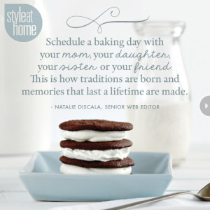 Schedule A Baking Day With Your Mom