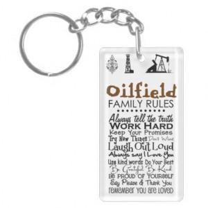 50 Oilfield Family RULES Keychain #oilfield #love #pride #life # ...