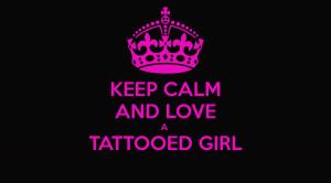 Keep Calm And Love Girl Nation