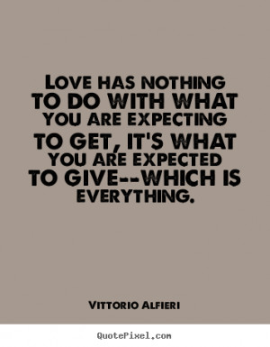 ... photo quotes - Love has nothing to do with what you are.. - Love quote