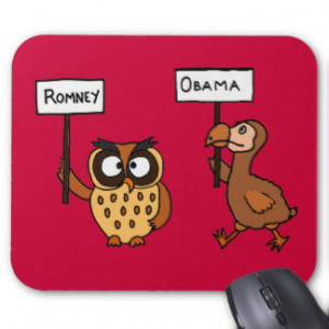 Funny Sayings Anti Obama And Aliens Mousepad