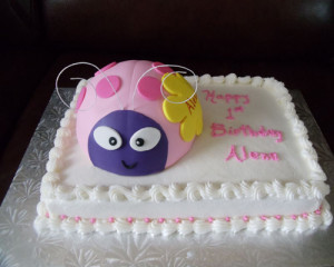 Ladybug First Birthday Cake Ideas