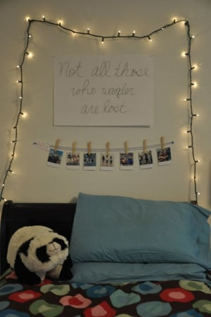 Tumblr Bedrooms With Quotes Teen bedroom quotes. via sarah lang