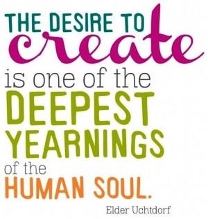 Desire to create quote via www.Facebook.com/SimplyMused