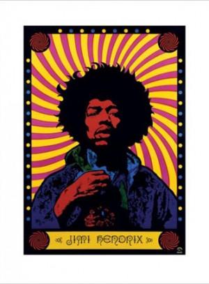 Jimi Hendrix Psychedelic