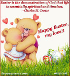 ... an easter blessing easter 1916 true love easter happy easter my love
