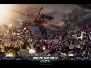 Related Pictures the ork menace warhammer 40k wallpaper