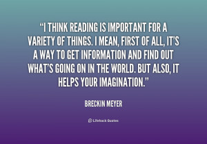 Why Reading Is Important Quotes