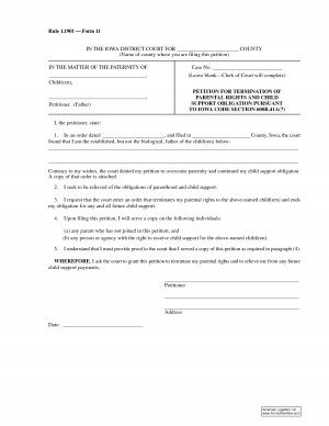 Contract Termination Of Parental Rights