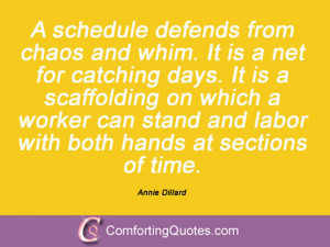 Funny Quotes About Schedules