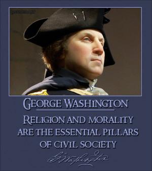 George Washington Forensic Model Photo