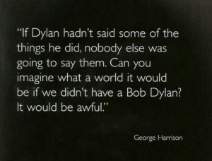 George Harrison quote.