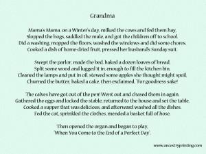 grandmother poem rip grandma poems rip poems3 grandmother poem poetry ...