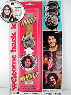 John Travolta Welcome Back Kotter TV 1971 | Metal Cased Watch John ...