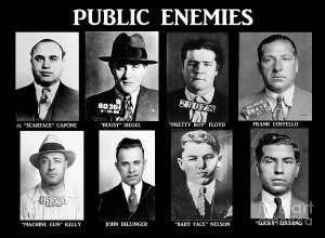 Original Gangsters - Public Enemies Photograph - Original Gangsters ...