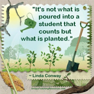 Quotes About Learning - It's not what is poured into a student that ...