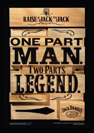 Legend, Jack Daniel's Whisky, Arnold Furnace , Jack Daniel's, Print ...