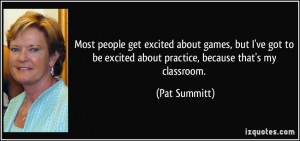 More Pat Summitt Quotes