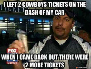 SportsMemes.net > Football Memes > Cowboys Fans Honesty