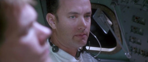 Photo of Tom Hanks, who portrays Jim Lovell , in