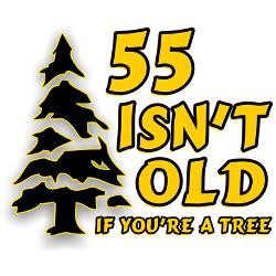 55_isnt_old_if_youre_a_tree_greeting_card.jpg?height=250&width=250 ...
