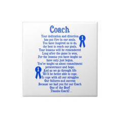 coach quotes   show your appreciation for your coach with this coach ...