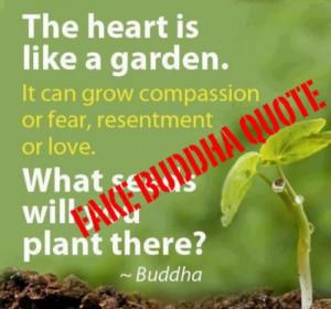 Fake Buddha Quotes