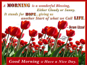 Good Morning Quotes Graphics, Pictures