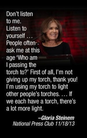 Tags gloria steinem feminism women success Women empowerment