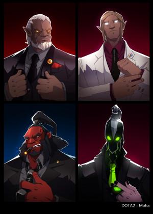 dota2 Mafia by biggreenpepper