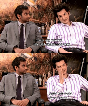 Jean-Ralphio and Tom Haverford ~ Parks and ...   Movie and TV quotes.