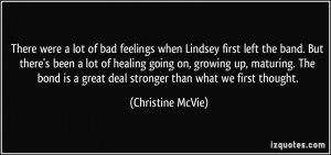 More Christine McVie Quotes