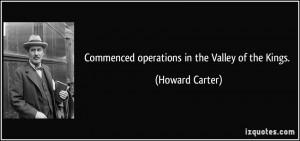 More Howard Carter Quotes