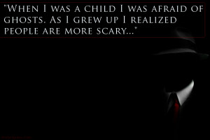 Scary Quotes And Sayings Fear quotes