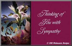 sympathy card Sad Quotes About Death Of A Family Member