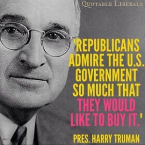 President Harry S. Truman quote