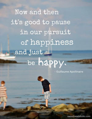 Pursuit Of Happiness Quote