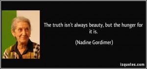 More Nadine Gordimer Quotes