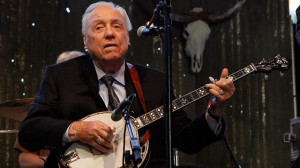 Bluegrass artist Earl Scruggs, best known as half the duo that wrote ...