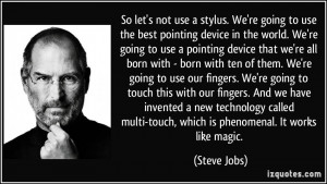 Pointing Fingers Quotes More steve jobs quotes