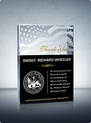 Home > Military Plaques > Thank You Military! Plaque
